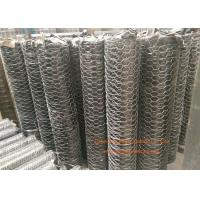 """Buy cheap 1 / 4"""" Galvanized Hexagonal Gabion Wall Mesh 0.5 - 2.5m Width For Poultry Netting product"""