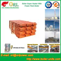 Buy cheap Fire Tube Boiler Superheater / Super Heaters For Petroleum Industry product