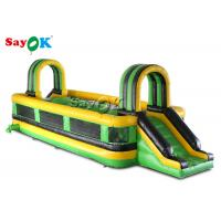 China Giant Wipeout Obstacle 10x3x2.5mH Inflatable Sports Games on sale