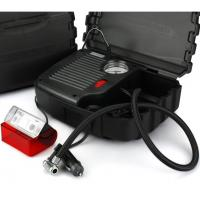Buy cheap Black High Power Car Air Compressor With Plastic Box One Year Warranty product
