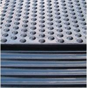 Buy cheap Natural Anti-slip Rubber Mat , Horse Stable Mats product