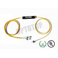 Buy cheap Single Mode Fiber Coupler 1X2 LC Fbt Coupler Φ2 Length Customized Package C product