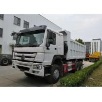 Buy cheap Middle Lifting System SINOTRUK HOWO Dump Truck371HP 6X4 20CBM 25 Tons Loading product