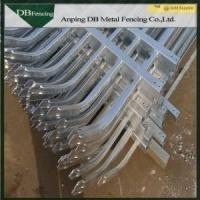 Buy cheap High Security Steel Tube Garden Picket Fence Galvanized And PVC Coating Surface product