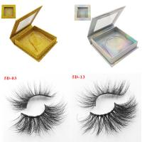 Buy cheap High Quality Own Brand Private Label 100% Real Mink Lashes 3d Mink Eyelashes from wholesalers
