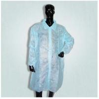 Buy cheap Waterproof Disposable Surgical Gowns , Lab Visting Gown Good Tensile Strength product