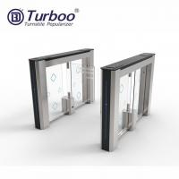 Buy cheap Physical Access System Turnstyle Automatic Gates With Voice And Strobe Light Alerts product
