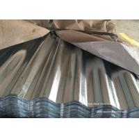 Buy cheap Waved Galvanized Steel Sheet Plates For Roofing , Walls , Ceiling product