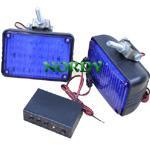 Buy cheap LED Strobe light  12/24v Dual Voltage Warning light blue red color flashing bar product