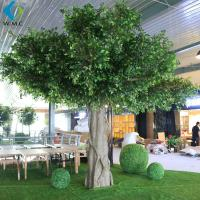 Buy cheap Faux Green Indoor Banyan Tree 6m Height Customized Design Long Use Life product