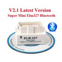 Buy cheap V2.1 OBD2 ELM327 Interface Bluetooth Diagnostic Code Scanner For Cars product
