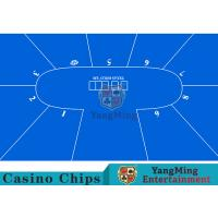 Buy cheap Flexible Three Card Roulette Table Layout With Velvet Suede Fabric Surface from wholesalers