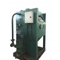 Buy cheap Electric Wet Sandblasting Equipment , Wet Blasting Cabinet For Surface Cleaning product