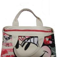 Buy cheap Waterproof Shopping  Nylon Tote Bag 420D Mickey Pattern With Zipper product