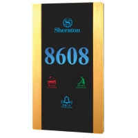 Buy cheap Hotel Door Number Hotel Door Plate Door Bell Touch Switch From CHINA product