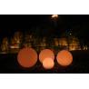 Buy cheap Dia 80cm PE Long Lasting Decorative LED Night Lights , LED Ball Lights from wholesalers