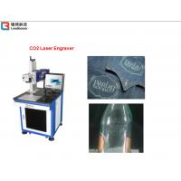 China Plastic Laser Engraving Machine For Plastic Boxes , Carving Machine Water Cooling on sale
