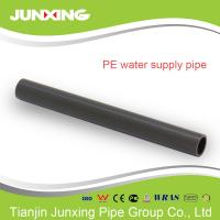 China hdpe pipe 1/2 inch for irrigation in farms black color with ISO4427 approval on sale