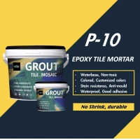 Buy cheap P-10 Matte Epoxy Mortar And Grout No Shrink Mapei Replacement product