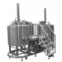 60 BBL Steam Heated Brewhouse Beer Brewing Equipment Stainless Steel AISI 304