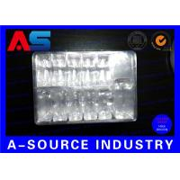 Buy cheap PET Plastic Blister Packaging Tray For Vaccines Vials 10 2ML And One 10mL Water Bottle product