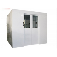 Buy cheap Fully Auto Control 4 Worker Clean Room Entrance / Air Shower Tunnel System product