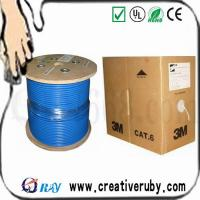 Buy cheap Outdoor FTP cat5e lan cable with messenger product