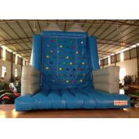 China Kindergarten School Inflatable Rock Climbing Wall Double Stitching 5 X 5 X 6m on sale