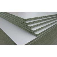Buy cheap PMDI Glue Blue Moisture Resistant Particle Board , Formwork Particle Board Cover Sheets product