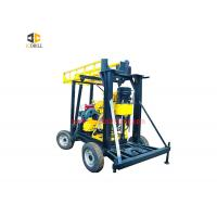 Buy cheap Vertical Spindle Type Water Well Drilling Rig 4.2m Drill Rod 2400 Nm Rotation from wholesalers