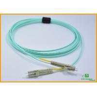Buy cheap Duplex LC To LC Fiber Optic Patch Cables Multimode OM3 Optical Jumpers 10Gig 3 from wholesalers