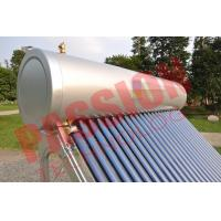 Buy cheap Pvc Pipe Solar Water Heater Glass Tubes , Home Solar Water Heating Systems product