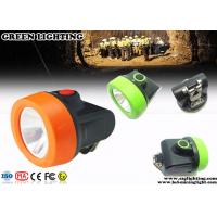 Buy cheap 110 Lum Cordless Style Mining Hard Hat Lights With Charging Indication Lights product