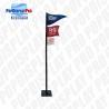 Buy cheap 3 Flags Custom Cardboard Standee Retail Visual Merchandising For Beer Drinks from wholesalers