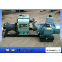 China 3 Ton Electric Cable Pulling Winch For Underground Cable Installation Project on sale