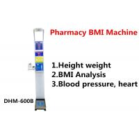 Pharmacy Height And Weight Measuring Scale With Blood Pressure Machine DHM - 600B