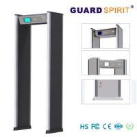 Buy cheap Playground safe 24 Zones full body metal detectors Battery supply with customic Option product