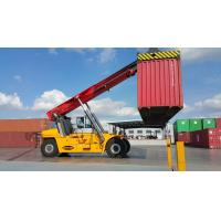Buy cheap Chinese 45ton container reach stacker factory 45ton reach stacker CRS4532 with ZF transmission product