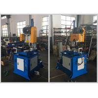 Buy cheap Custom Semi Automatic Pipe Cutting Machine Two Way Clamps Low Noise Low Pollution product