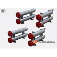 Buy cheap Dry Horizontal Shell And Tube Condenser Stainless Steel For Water Cooled Unit product