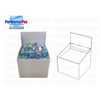 Buy cheap Strong 30kgs Supporting Capability of Wingstack Cardboard Dump Bins product