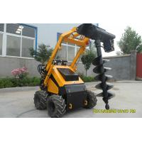 Buy cheap Garden / Pasture 4 Wheel Mini Compact Skid Steer Loader Shoveling Soil product