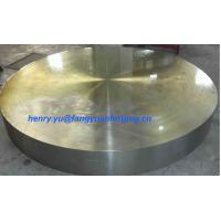 Buy cheap Tube Sheet Double Stainless Steel Forged Disc 1.4462, F51, S31803; F60, S32205; F53, S32750 product