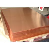 Buy cheap High performance Copper Sheet Plate , 0.2-120mm Copper Alloy Sheet TP2 C12200 C1220 product