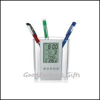 China Promotion Pen Holder With Calendar printed logo on sale