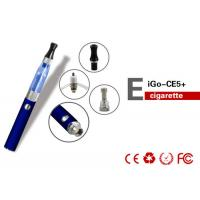 China 1100mAh Health EGO CE5 E Cigarette EGO W With 1.6ml Huge Vapor wholesale