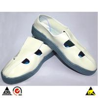 ESD Butterfly Face PVC Conductive Shoes for Cleanroom Safety Use & Personnel Antistatic Protection