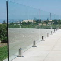 Buy cheap 8mm Laminated Security Glass Sheets / Toughened Laminated Glass Balustrade product