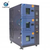 China Custom 3 Layer LCD Touch Screen Controller temp. humi. test environmental chamber on sale