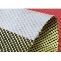 Buy cheap 3x1 Twill Aramid Fiber Fabric 240GSM With Anti Dispersing Linning product
